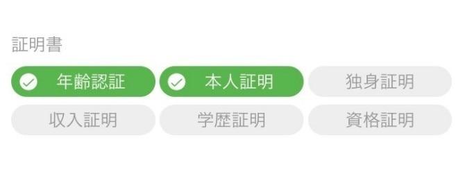 証明書の内容がわかるアプリ